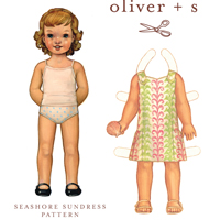 Oliver + S Seashore Sundress Pattern ( Size 6m-4 )