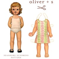 Oliver + S Seashore Sundress Digital Pattern ( Size 6m-4 )