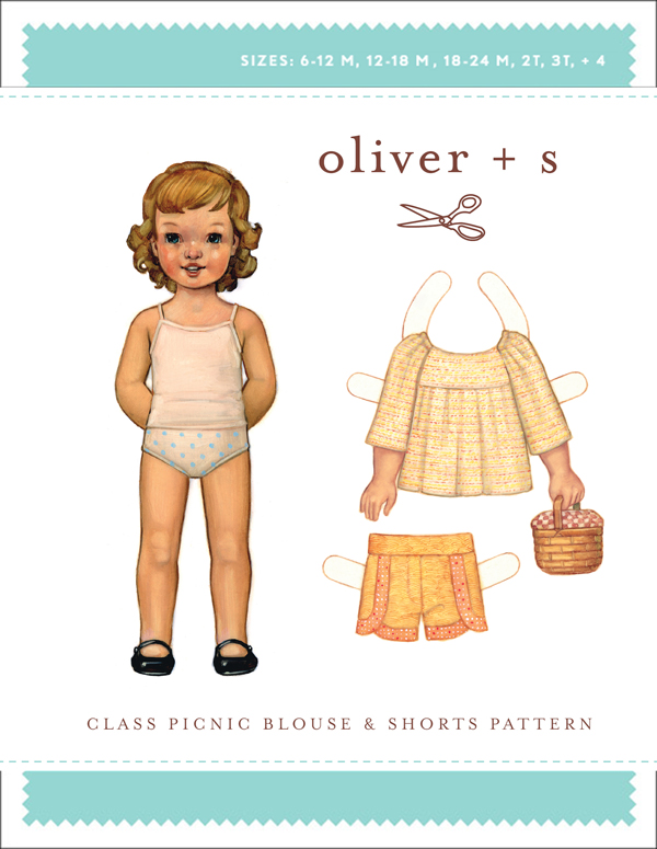 Oliver + S Class Picnic Blouse & Shorts OS025CP