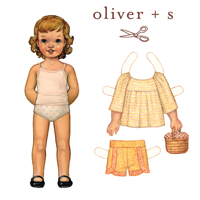 Oliver + S Class Picnic Blouse & Shorts Digital Pattern (Size 5-12)