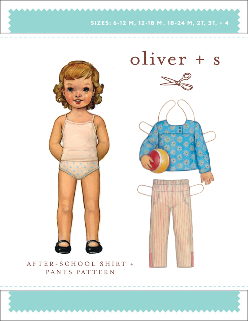 Oliver + S After-School Shirt + Pants OS027AS