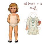 Oliver + S Apple Picking Dress Pattern ( Size 6m-4 )