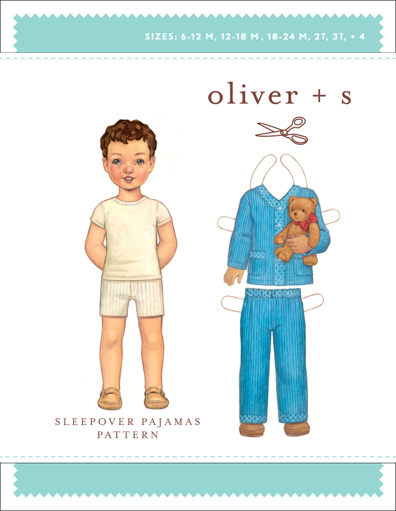 Oliver + S Sleepover Pajamas OS029SL