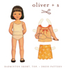 Oliver + S Badminton Skort, Top + Dress Digital Pattern (5-12)