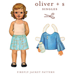 Oliver   S Firefly Jacket Digital  Pattern ( Size 5-12 )