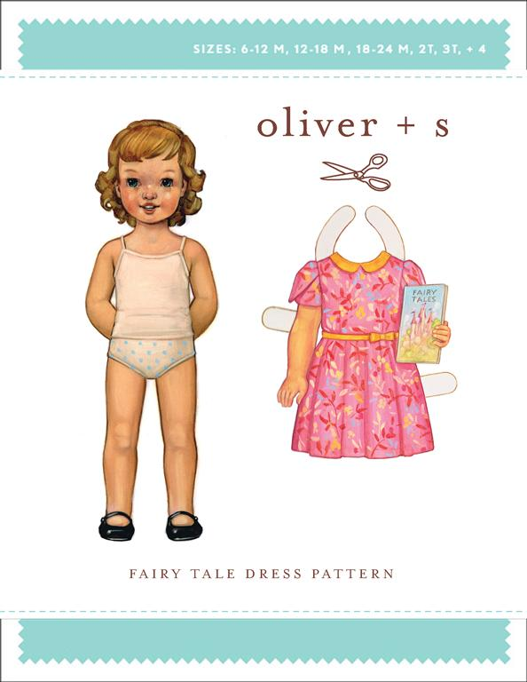 Oliver + S Fairy Tale Dress OS036FT