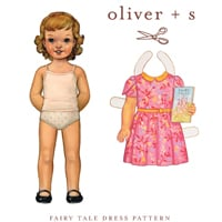 Oliver   S Fairy Tale Dress Digital Pattern ( Size 5-12 )
