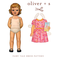 Oliver + S Fairy Tale Dress Pattern ( Size 5-12 )
