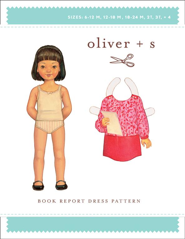 Oliver + S Book Report Dress OS037BR