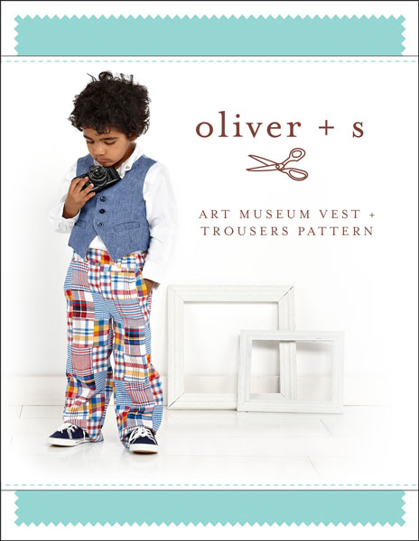 Oliver + S Art Museum Vest + Trousers OS041AM
