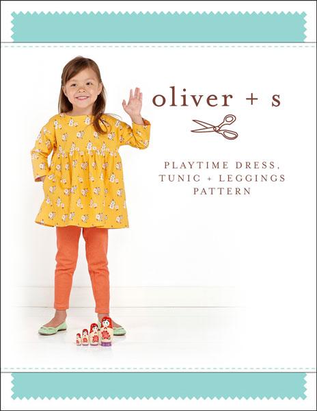 Oliver + S Playtime Dress, Tunic + Leggings OS042PT