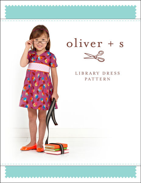 Oliver + S Library Dress OS043LD