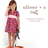 Oliver + S Library Dress Digital Pattern (6m-4)