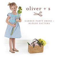 Oliver + S Garden Party Dress (5-12) Paper Pattern