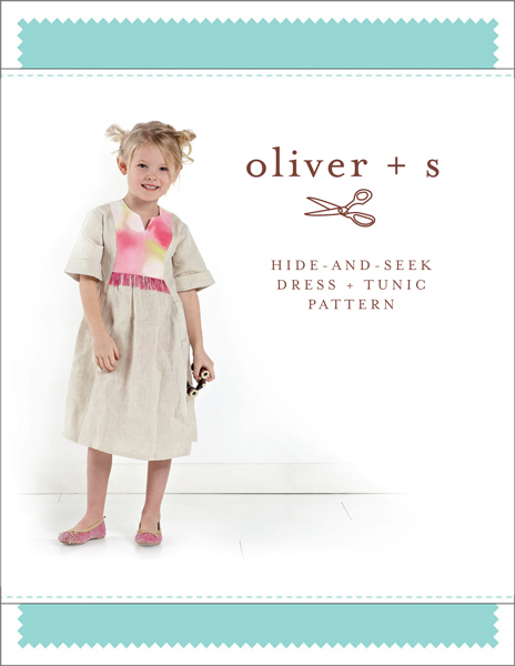Oliver + S Hide and Seek Tunic OS045HSD