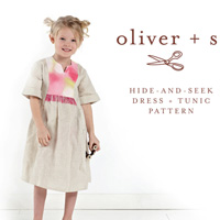 Oliver + S Hide and Seek Tunic (6M-4) Paper Pattern