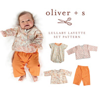 Oliver + S Lullaby Layette Set Digital Pattern
