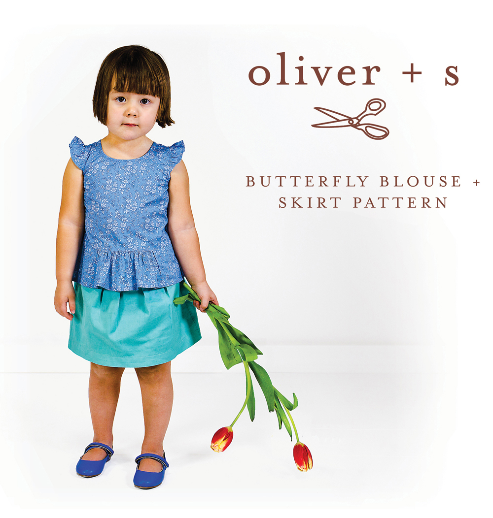 Oliver + S Butterfly Blouse and Skirt OS051BB