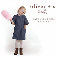 Oliver + S Carousel Dress Paper Pattern (6M-4)