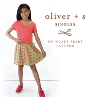 Oliver + S Swingset Skirt Digital Pattern (6M-14)