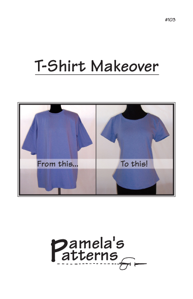 Pamela's Patterns T-Shirt Makeover 103