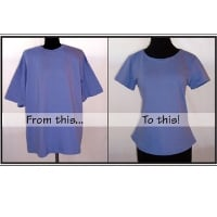 Pamela's Patterns T-Shirt Makeover Pattern