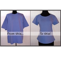 Pamela's Patterns T-Shirt Makeover Pattern