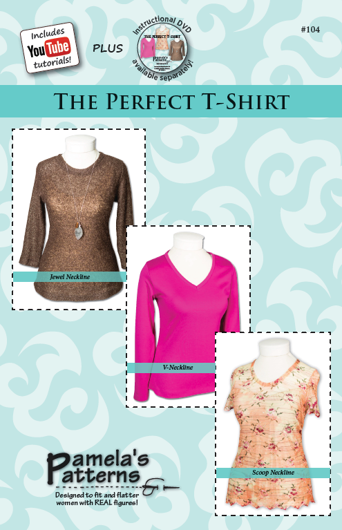 Pamela's Patterns The Perfect T Shirt 104