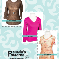 Pamela's Patterns The Perfect T Shirt Pattern
