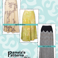 Pamela's Patterns Favorite Bias Skirt Pattern