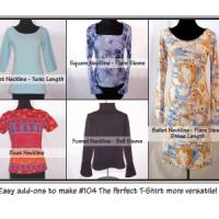 Pamela's Patterns New Necklines & sleeves Pattern