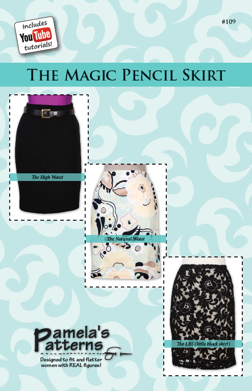 Pamela's Patterns Magic Pencil Skirt 109