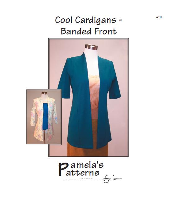 Pamela's Patterns Cool Cardigans - Banded Front 111