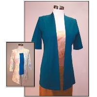 Pamela's Patterns Cool Cardigans - Banded Front Pattern