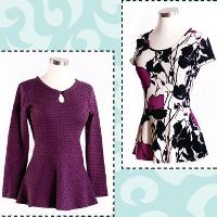 Pamela's Patterns Pretty Peplum Top Pattern