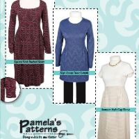 Pamela's Patterns Softly Pleated Dress Pattern