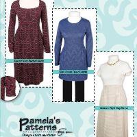 Pamela's Patterns Softly Pleated Dress Pattern