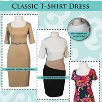 Pamela's Patterns Classic T-Shirt Dress