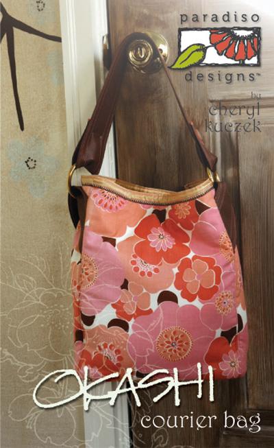 Paradiso Designs Okashi Courier Bag 004