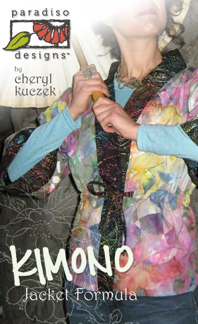 Paradiso Designs Kimono Jacket Formula 010
