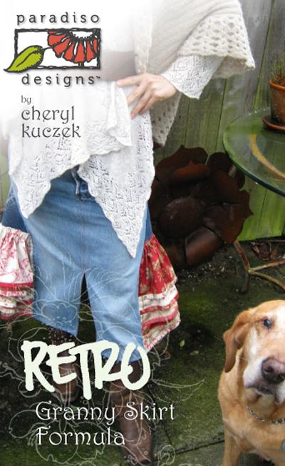 Paradiso Designs Retro Granny Skirt Formula 011