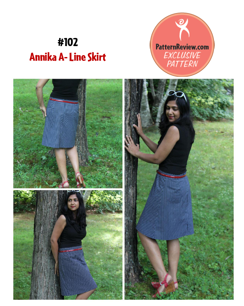 PatternReview Annika A-Line Skirt 102