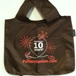 PatternReview Tote Bag Brown
