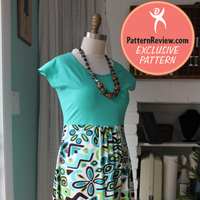 PatternReview Summer Street Dress Digital Pattern