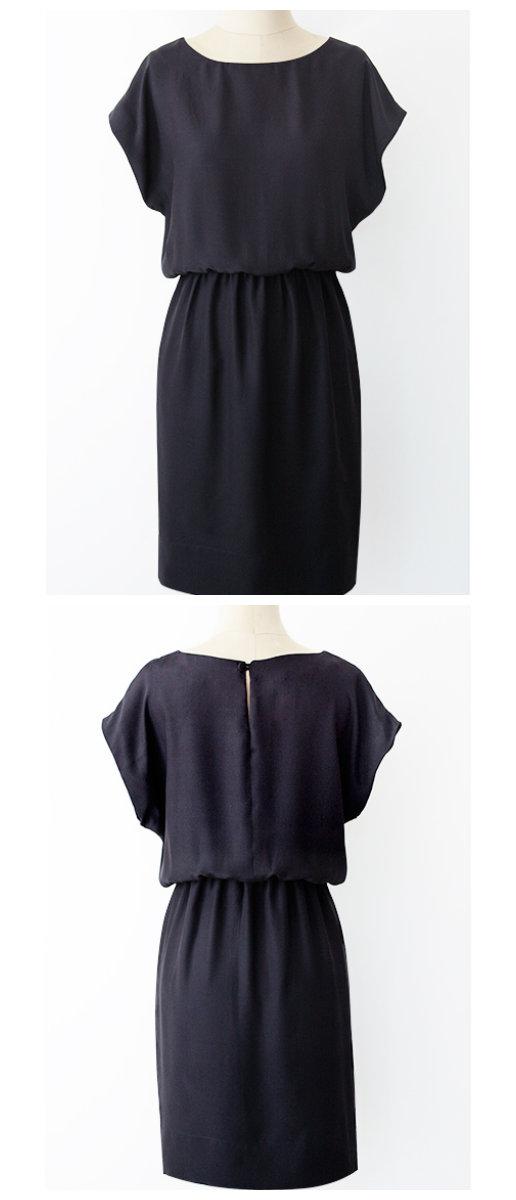PatternRunway Easy Kimono Dress 1302