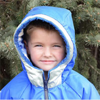 Peek-A-Boo Polar Pal Parka Digital Pattern