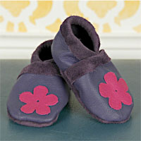 Peek-A-Boo Tiny Toes Soft Sole Shoes Digital Pattern