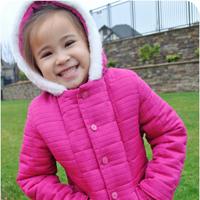 Alpine Wonderland Puffy Coat