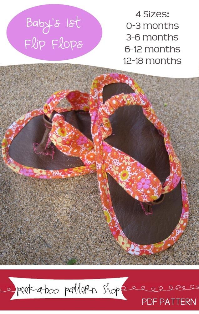 Peek-a-Boo Pattern Shop Flip Flops Flip Flops