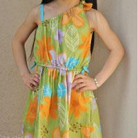 Peek-A Boo Jasmine Dress Digital Pattern